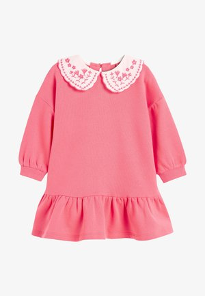 Freizeitkleid - pink