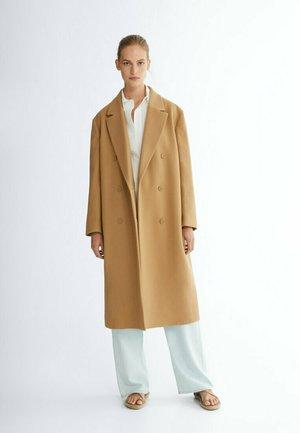 LANGER 06422640 - Classic coat - beige