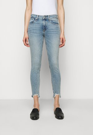 CATE MIDRISE ANKLE - Jeansy Skinny Fit - thunderbird