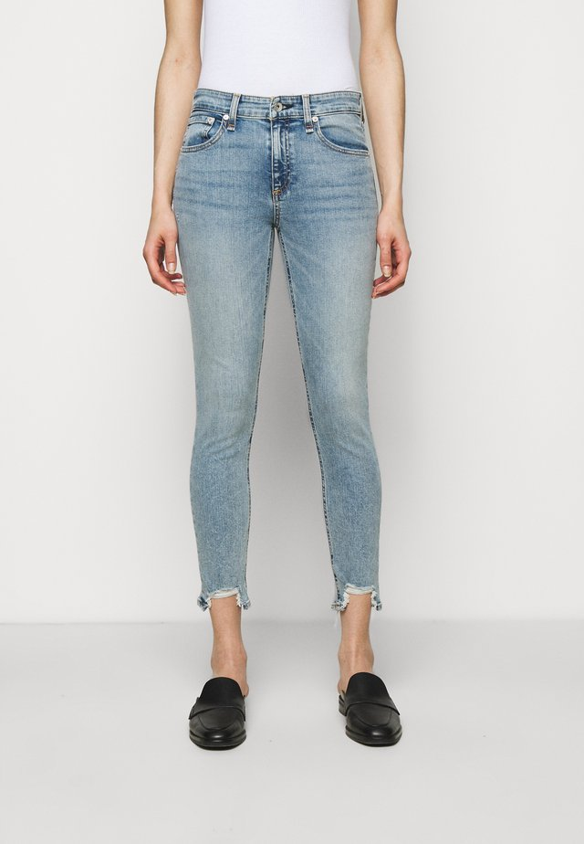 CATE MIDRISE ANKLE - Jeans Skinny - thunderbird