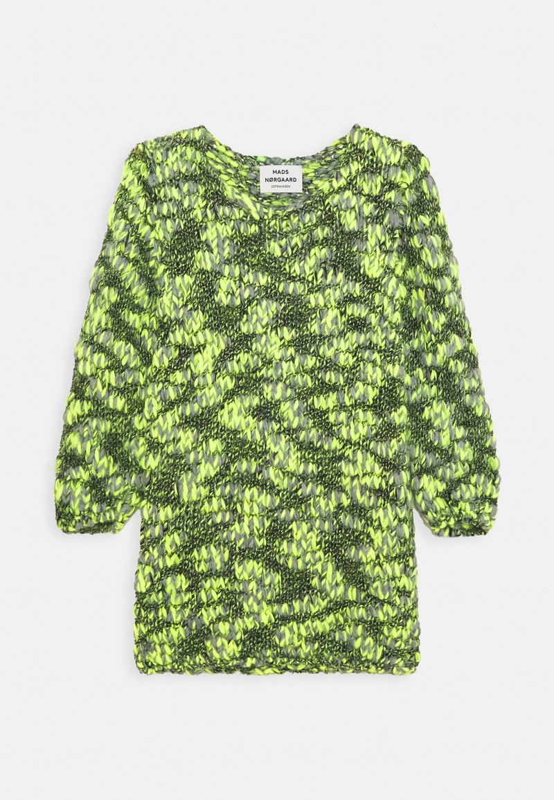 Mads Nørgaard - FANTASY KAXINI - Strickpullover - neon yellow
