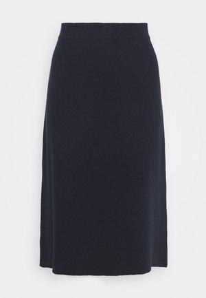 CORE - Áčková sukně - navy