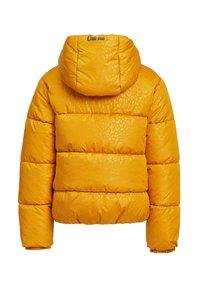 WE Fashion - MET CAPUCHON - Winterjas - yellow - 1