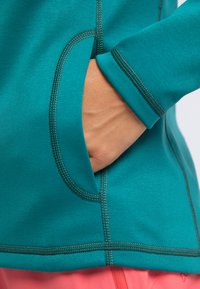 PYUA - APPEAL - Fleece jacket - petrol blue - 4