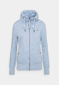 Ragwear - RYLIE MARINA ZIP - Mikina na zip - light blue - 4