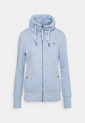 RYLIE MARINA ZIP - Zip-up sweatshirt - light blue