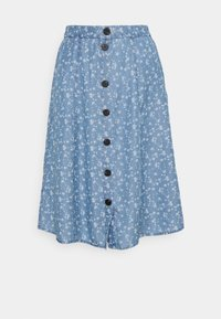 VILA PETITE - VIFLIKKA MIDI SKIRT - A-line skirt - medium blue - 0