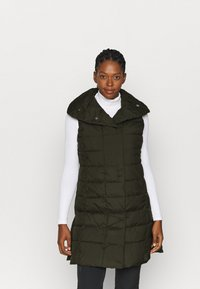 Didriksons - MY VEST - Waistcoat - forest green - 0