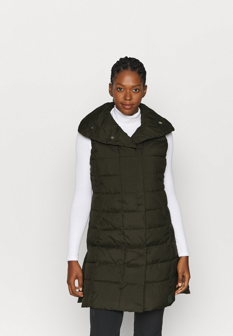Didriksons - MY VEST - Waistcoat - forest green