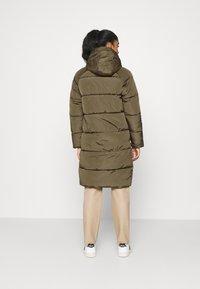 ONLY - ONLMONICA LONG PUFFER COAT  - Winter coat - beech - 3
