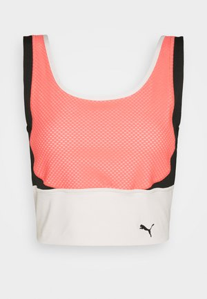TRAIN CROP TANK - Top - georgia peach