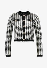 Fashion Union Petite - HIBISCUS - Cardigan - black/cream - 3