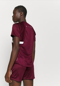 Nike Performance - DRY - T-Shirt print - dark beetroot/white - 2
