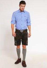 Stockerpoint - CORBI - Kožené kalhoty - bison - 1