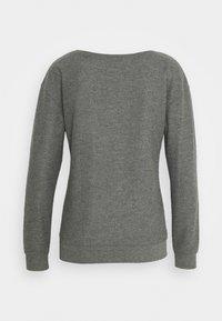 Hunkemöller - PANT BRUSHED SET - Pyjama set - mid grey - 2