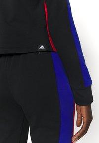 adidas Performance - BIG LOGO - Tuta - black/vivid red/bold blue - 6