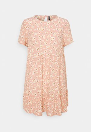 PCMILLER SS DRESS - Day dress - misty rose/flowers