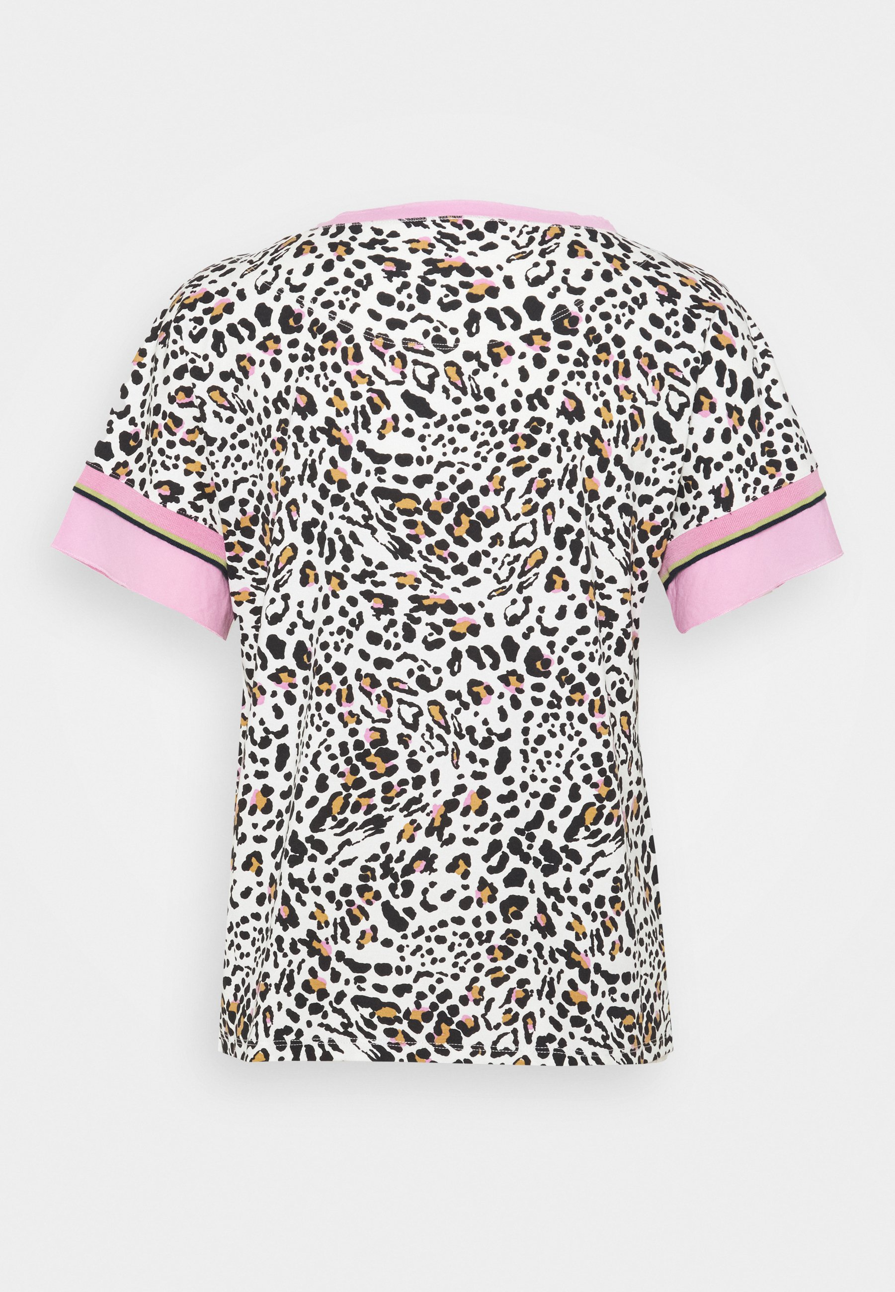 Marc Cain T-shirts Med Print - Prism Pink/rosa