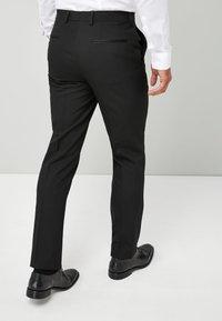 Next - TUXEDO - Pantaloni eleganti - black - 2