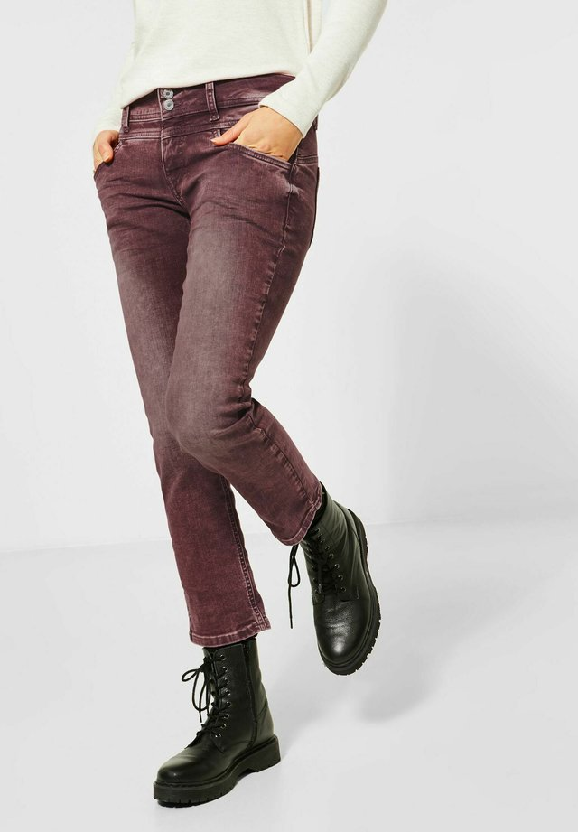 Slim fit jeans - rot