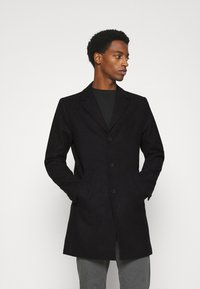 Solid - JACKET FAYETTE - Classic coat - black - 0