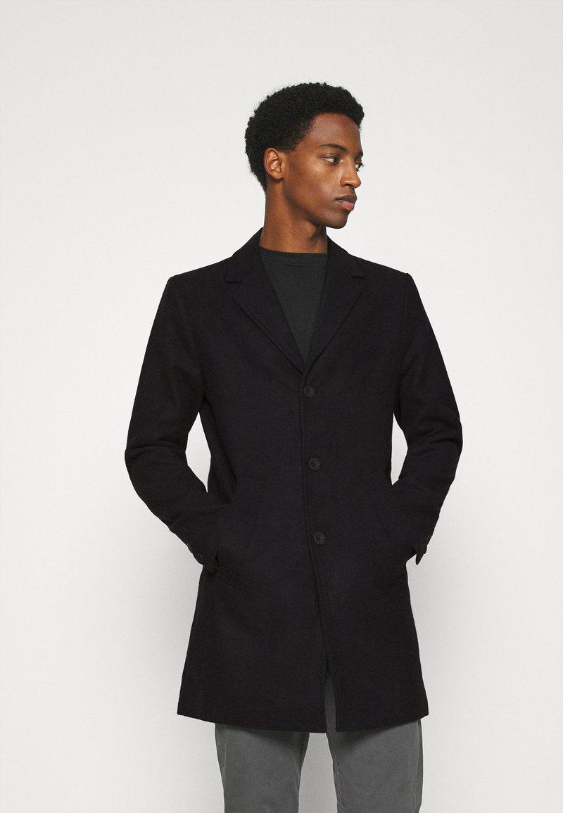 Solid - JACKET FAYETTE - Classic coat - black