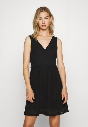 VMKATIE SHORT DRESS - Denní šaty - black