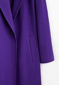 Massimo Dutti - Classic coat - dark purple - 4
