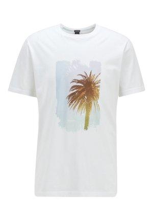 TMIX - Print T-shirt - White