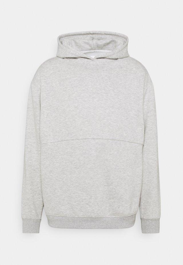 HOODY - Sweatshirt - lightgrey melange