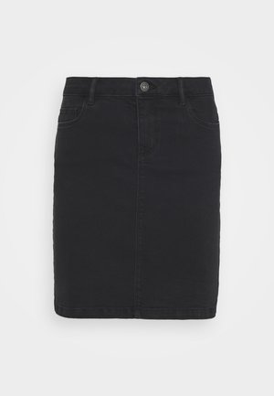 ONLAMAZE SKIRT BOX - Mini skirt - black denim