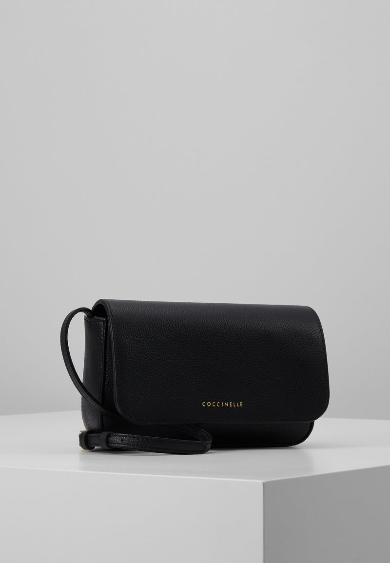 Coccinelle - ANNETTA MINI BAG - Across body bag - noir