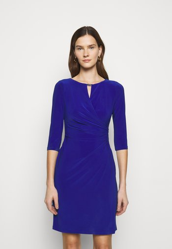MID WEIGHT DRESS TRIM - Etui-jurk - french ultramarin