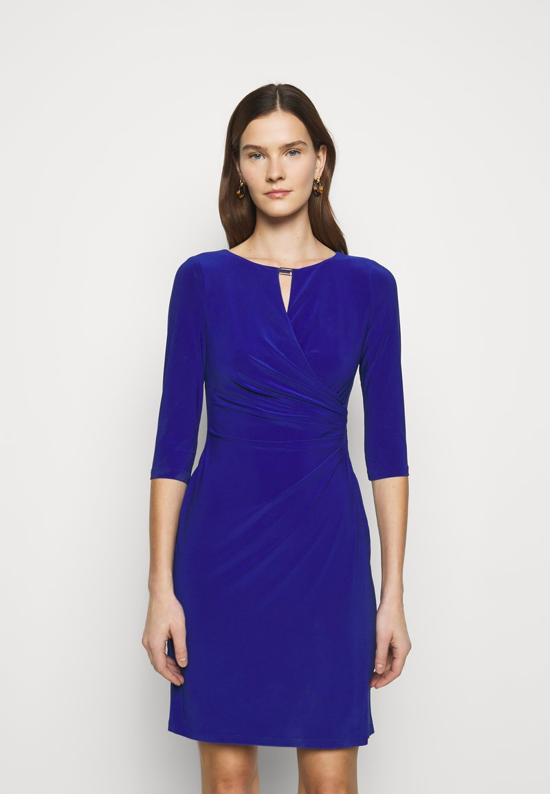 Lauren Ralph Lauren - MID WEIGHT DRESS TRIM - Robe fourreau - french ultramarin
