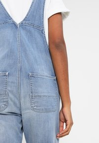Carhartt WIP - OVERALL - Tuinbroek - blue light stone washed - 4