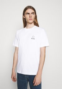 Études - LOGO UNISEX - T-shirt imprimé - white - 0