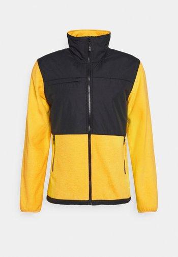 BACTON UNISEX - Fleece jacket - yellow