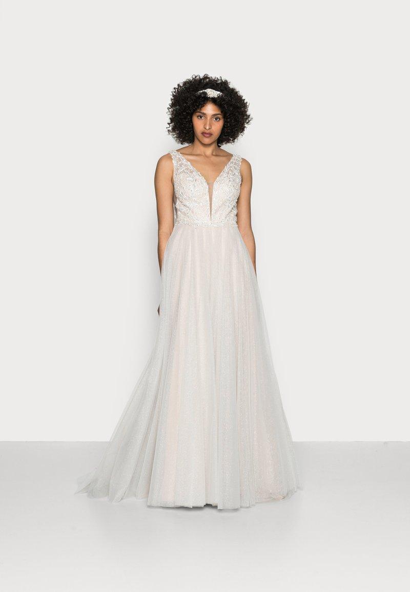 Luxuar Fashion - Abito da sera - ivory/nude