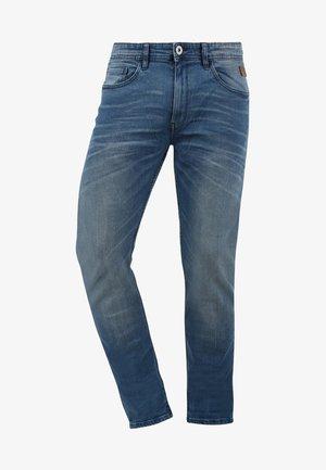 TAIFUN - Jeans Slim Fit - denim middleblue