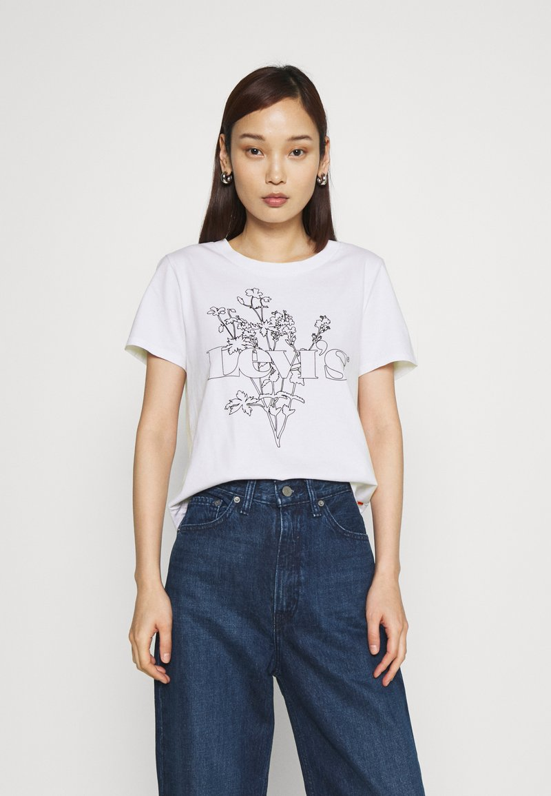 Levi's® - GRAPHIC SURF TEE - T-shirt imprimé - white