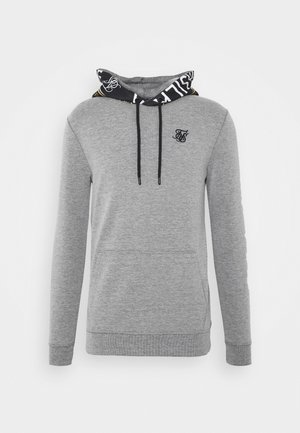 MUSCLE FIT OVERHEAD HOODIE - Sweat à capuche - grey marl