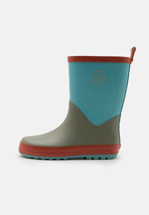 WELLIES COLOR BLOCK UNISEX - Kalosze - delphinium blue