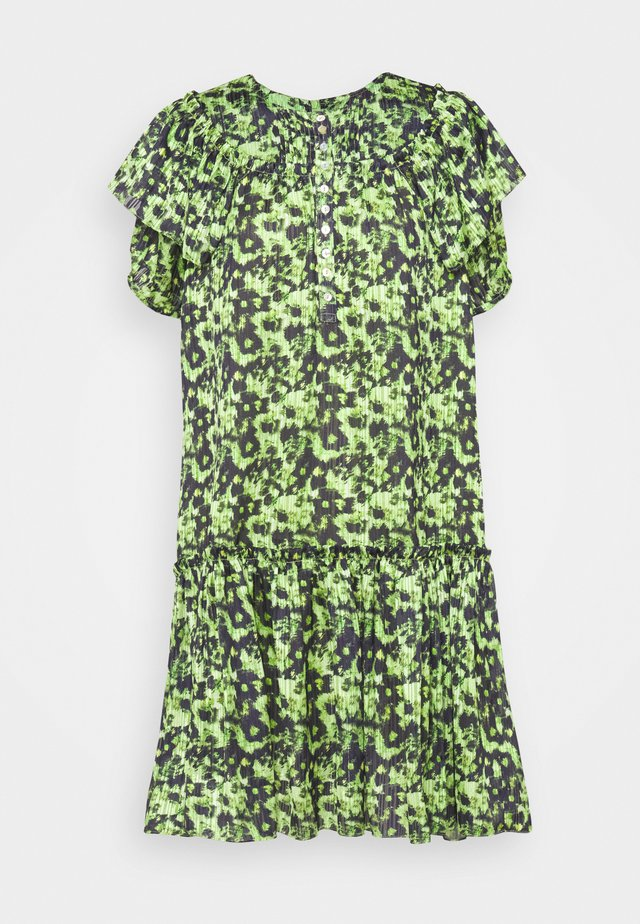 CARLSON DRESS - Vestido camisero - green
