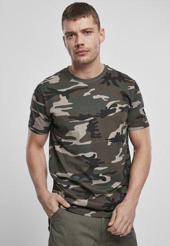 T-shirt basic - woodland