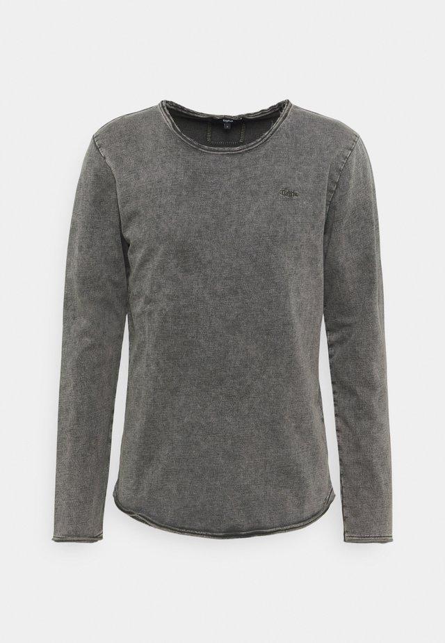 MILO SPRAY  - T-shirt à manches longues - vintage stone grey
