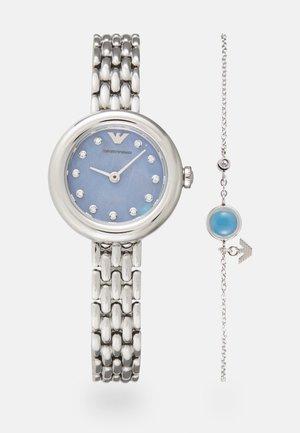 SET - Horloge - silver-coloured