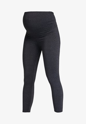 MATERNITY CORE 7/8  - Tights - charcoal marle
