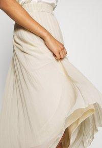 Monki - LAURA PLISSÉ SKIRT - Jupe plissée - beige dusty light - 4