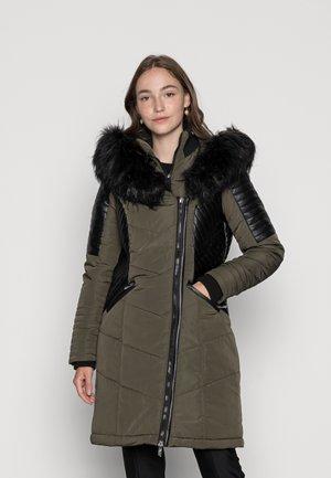 ONLLINETTE HOOD COAT - Winter coat - peat