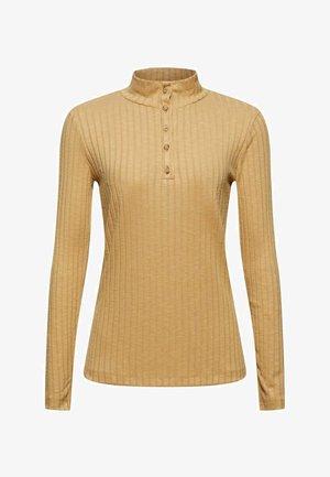 T-shirt à manches longues - khaki beige